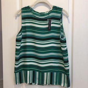 NWT Striped Blouse.